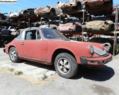 1974 Porsche 911 Targa Project Car for Restoration