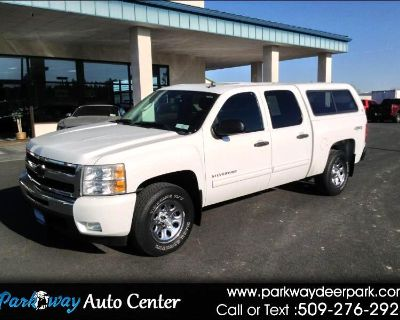 """Used 2011 Chevrolet Silverado 1500 4WD Crew Cab 143.5"""" LT"""
