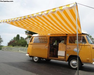 68-73 Bay Westy Only Awning Canopy