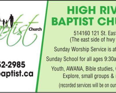 HIGH RIVER BAPTIST CHURCH 5...