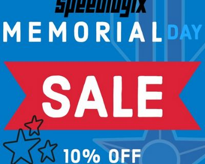 Memorial Day Sale 10% Off Store Wide 5/30-5/31