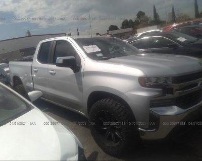 Salvage Gray 2019 Chevrolet Silverado 1500