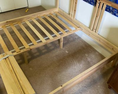IKEA bed frame and mattress