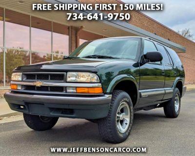2001 Chevrolet Blazer 4dr LS
