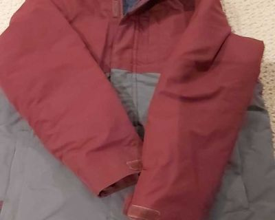 Boys winter coat, size 10/12
