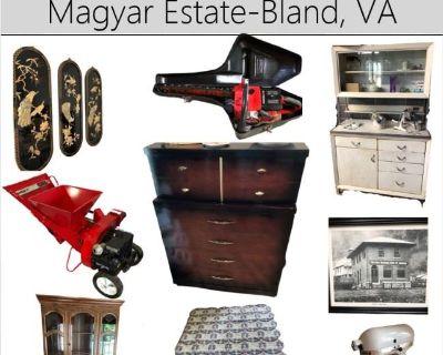 URGENT SHORT NOTICE-Magyar Estate of Bland, VA