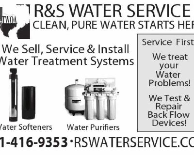 WATER SOFTENERS HOUSTON/ RS Water Service 281-416-9353