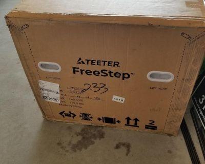 For Sale - Teeter FreeStep Elliptical Exercise Bike, Mod LT