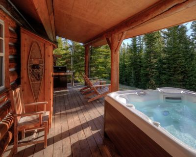 Ski-in/Ski-out Cowboy Heaven Cabin/Private Hot Tub/Great Views/Ski from porch! - Big Sky