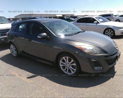 Salvage Gray 2010 Mazda Mazda3