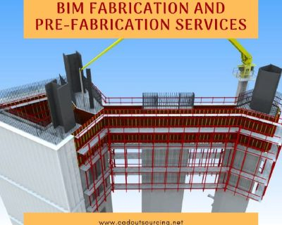 BIM Fabrication and Pre-fabrication Services - CAD Outsourcing