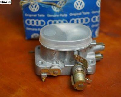 NOS Throttle Body Genuine VW (067 133 063 E)