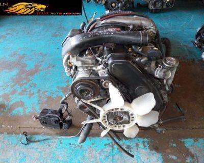 Toyota Hilux 3.0l Turbo Diesel Inline 4 Engine Awd At Wiring Ecu Jdm 1kzte #2