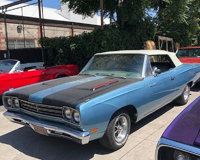 1969 Plymouth Road Runner 2 DR. Convertible