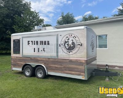 2020 - 8' x 20' Lightly Used Kitchen Food Concession Trailer