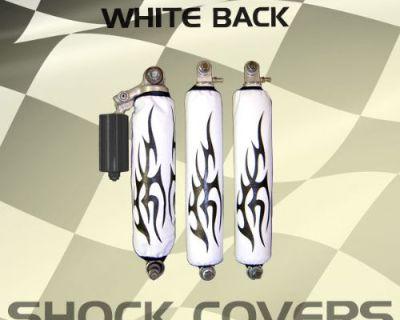 Yamaha Raptor 90 Black Tribal White Shock Cover #ppp11751 Nlw3761