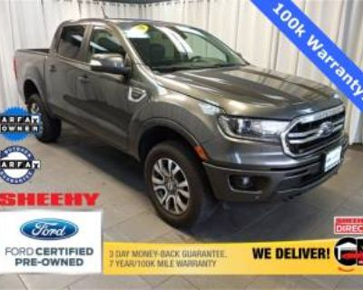 2020 Ford Ranger Lariat 4WD SuperCrew 5' Box