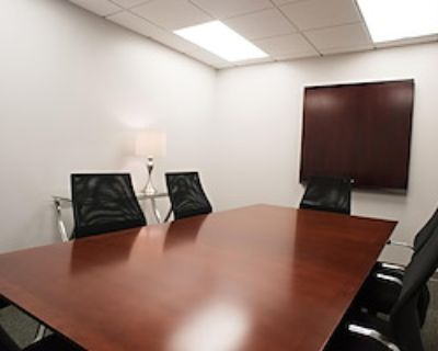 Private Meeting Room for 6 at Peachtree Offices at Downtown, Inc.