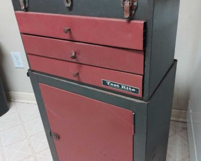 Large Rolling Toolbox (Separates and Drawers Work Just A Little Rough)