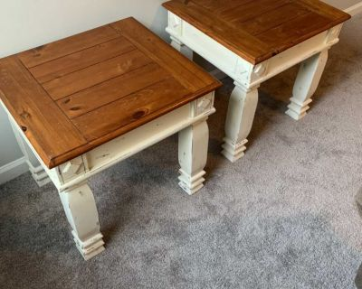 Real Wood side/ end tables