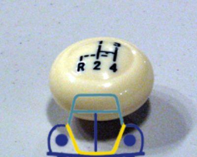 Beetle/Ghia Shifter Knob W/Shift Pattern, IV 62/67