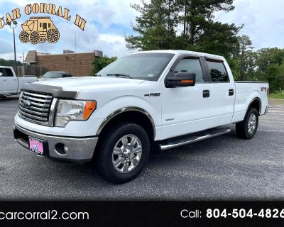 Used 2012 Ford F-150 XLT SuperCrew 6.5-ft. Bed 4WD