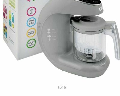 #1 BEST SELLER FOR MAKING BABY FOOD!! Homia Infant Multifunctional Smart Baby Food Processor