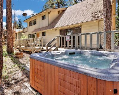 All Season Alpine Retreat Walk To Lake / Hot Tub / Dry Sauna / Game Room - Big Bear Lake