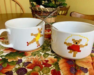Set of 2 Soup Mugs