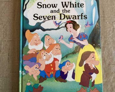 Snow White and the Seven Dwarves Walt Disney Hardback