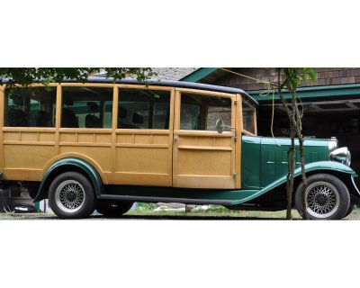 1932 Chevrolet Woody Wagon