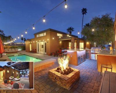 Villa Agave: #066305 4 BR Pool, Spa, Fire Pit, Ping Pong, Bocce - La Quinta Cove