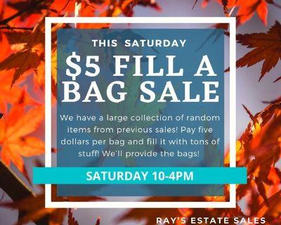 $5 fill a bag sale!