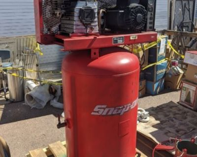 Snap on 80 Gallon 3 Phase Air Compressor