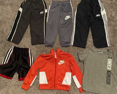 2T lot Nike and Under Armour