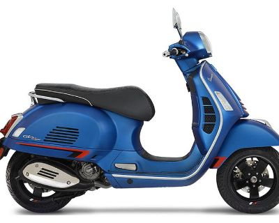2020 Vespa GTS Supersport 300 HPE Scooter Shelbyville, IN