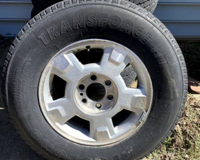 """FS/FT 17"""" Wheels, tires and spare from a 2014 F150"""