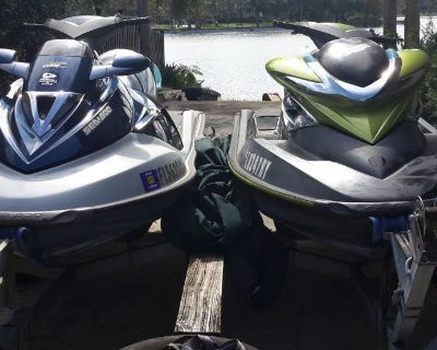 Pair of 2004 Sea-Doo Jet Skis - GTX Limited and RXP Supercharged