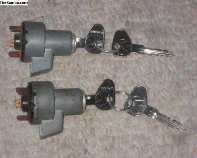 OG 1967 Bus L Key Code Ignition & Keys
