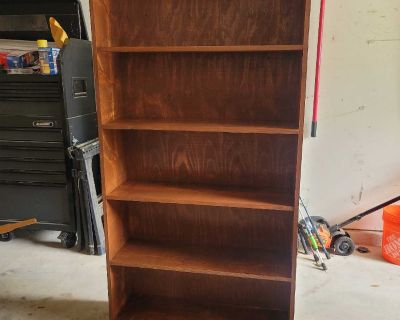 Solid wood bookcases handmade
