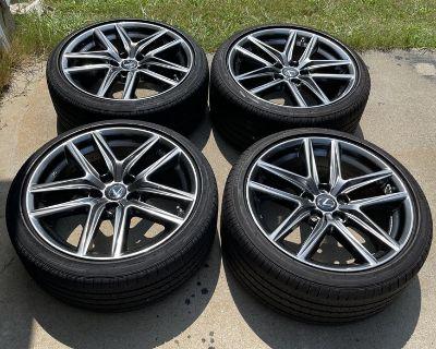 2019 Lexus IS300 F-sport OEM Wheels/Tires