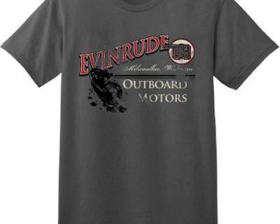 Evinrude Vintage Grey Short Sleeve T-shirt