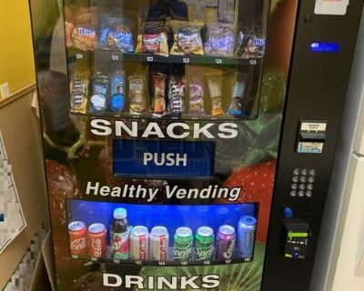 2018 (4) Seaga HY900 Snack and Drink Combo Vending Machines