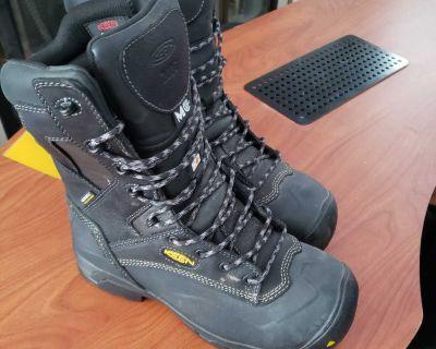 Brand new! Unworn KEEN work boot CSA, METGUARD BOOTS