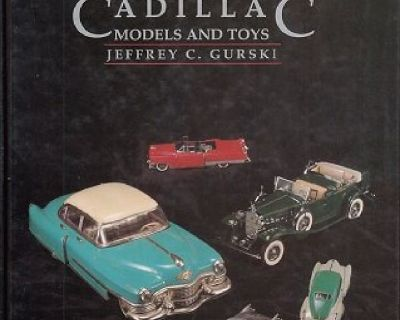 GREENBERG'S GUIDE TO CADILLAC MODELS AND TOYS !
