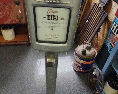 Gilbarco pedestal air meter