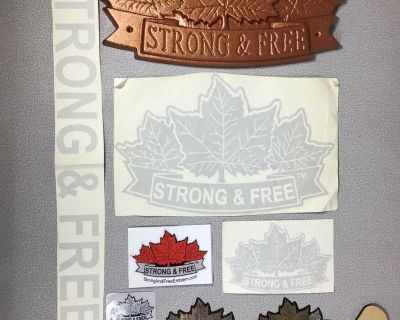 Canada Strong & Free Emblem package - box aa24