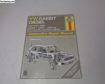 VW Rabbit Jetta 77-84 Diesel Repair Manual