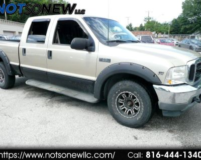 Used 2001 Ford F-250 SD XL Crew Cab Short Bed 2WD