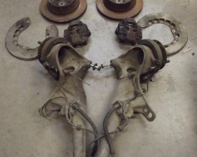 Porsche 911 Rear Suspension